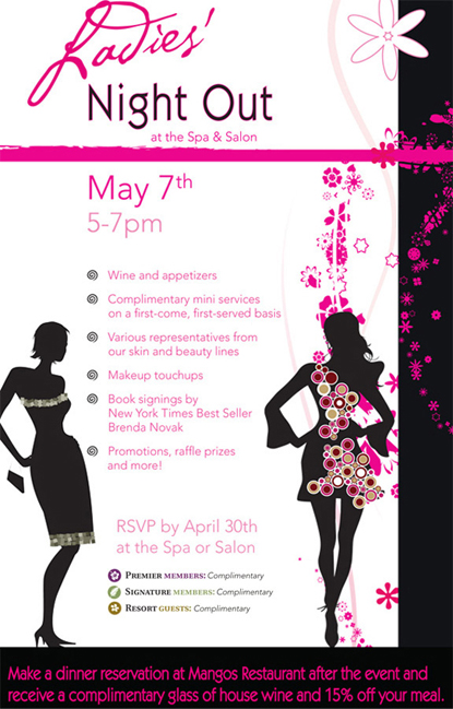 ladies night out club flyer - photo #34