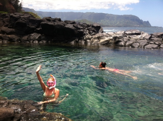 Kauai Travel Blog Natalie Grinnell Queen's Bath Miss Social Travel Blog