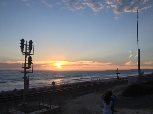 San Clemente Sunset - Natalie Grinnell - California Best Travel Blog