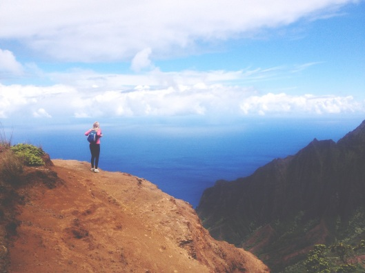 Natalie Grinnell Kauai Travel Blog World Travel Hawaii Hiking Spots Cliff Diving  Napali Coast 5
