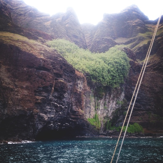 Natalie Grinnell Kauai Travel Blog World Travel Hawaii Hiking Spots Cliff Diving  Napali Coast