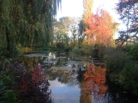 Claude Monet's house and garden at Giverny in Vernon, France.  Natalie Grinnell Miss Social Travel Blog Paris France